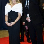 Actress Goldie Hawn and Piers Morgan arrive. (AP Photo/Kevin Wolf)