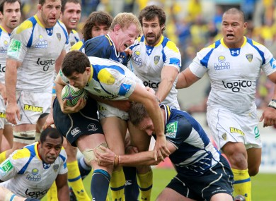 Leinster triumphed by the slimmest of margins yesterday.