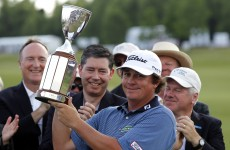 Donald regains top rank as Dufner claims win