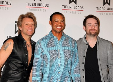 Tiger Woods, Jon Bon Jovi and the worst shirt ever made.