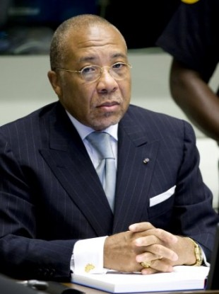 Charles Taylor at the UN-backed Special Court for Sierra Leone.