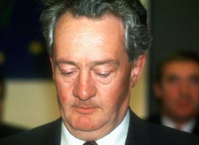 Dessie O'Malley believed it was fair for a society to try and stop its members from fornicating.