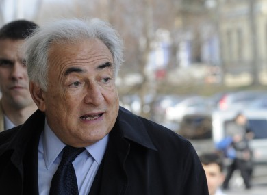 Former International Monetary Fund leader, Dominique Strauss-Kahn