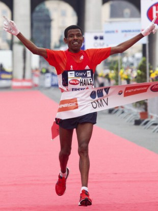 Haile Gebrselassie in action (file photo).