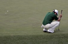 Oosthuizen has to settle for albatross at Masters