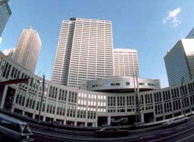 The Keio Plaza Hotel in Shinjuku, Tokyo