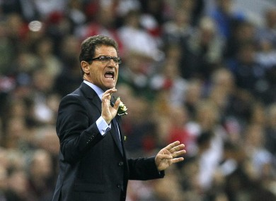 Fabio Capello is seeking a new coaching role after standing down as England manager.