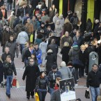 On 1 January 2011 the population of the EU-27 was estimated at 502.5 million; this was 1.4 million people more than the year before and therefore continued a pattern of uninterrupted EU-27 population growth that has been apparent since 1960. The number of inhabitants in the EU-27 grew from 402.6 million in 1960, rising by almost 100 million persons through to 2011. Just over one third (36.8 per cent) of the population increase in the EU-27 during 2010 resulted from natural growth; Net migration plus statistical adjustment continued to be the main determinant of population growth in the EU-27, accounting for 63.2 per cent of the population increase during 2010. (Image: Photocall Ireland)