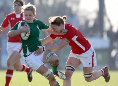 Ireland's Claire Molloy.