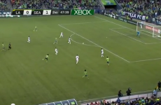 VIDEO: Montero slams home from 40 yards to rock Robbie and Becks
