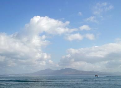 Not cloud computing: Actual clouds