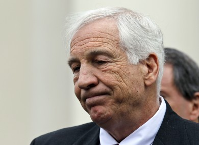 Sandusky is currently  confined to his State College home.