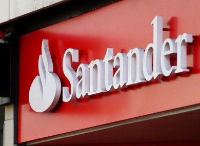 Santander was one of the larger banks to be downgraded