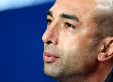 Roberto Di Matteo: Chelsea in the hunt for fourth spot.