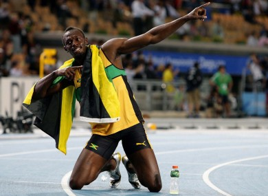 Usain Bolt: aiming for more gold in London.