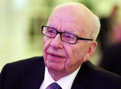 Rupert Murdoch was