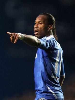 Chelsea striker, Didier Drogba.