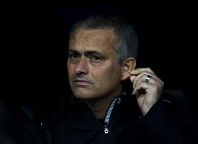 Jose Mourinho: staying put.