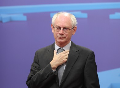 Herman van Rompuy will convene EU heads of government exactly halfway between Francois Hollande taking office and Ireland's referendum on the Fiscal Compact.