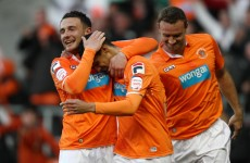 Championship playoff match report: Ince hands Blackpool the advantage