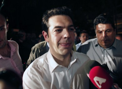 Alexis Tsipras, the leader of the Radical Left 'Syriza' coalition, will today meet the Greek President and be asked to form a government.