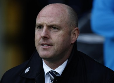 Kean's side were relegated from the Premier League last night.