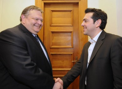 Evangelos Venizelos and Alexis Tsipras will meet later today, with a second general election now highly likely.