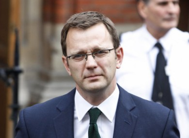 File photo of Andy Coulson.