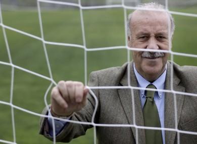 Spain coach Vicente del Bosque.