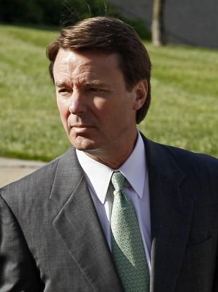 Former US presidential candidate John Edwards
