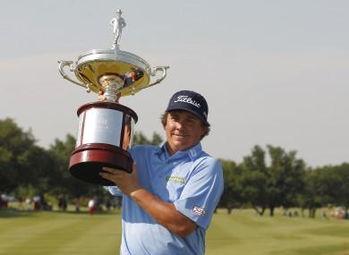 Dufner won the PGA Byron Nelson Championship on Sunday.