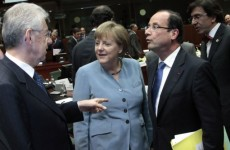EU summit: Merkel rejects eurobonds as Britain rules out financial transaction tax