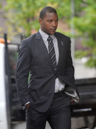 Bramble arriving in court today.