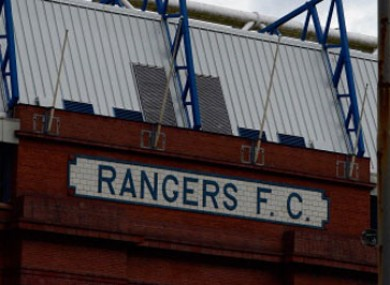 Rangers fell into administration earlier in the season.