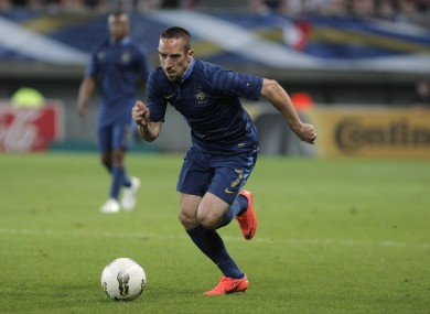 Ribery scored against Iceland in a weekend friendly.
