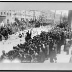 Start of Brooklyn marathon, 1909. (Library of Congress, Prints & Photographs Division)