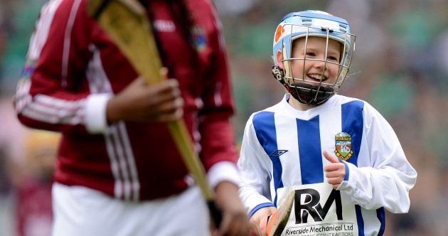 In pictures: school teams a different class at Croker