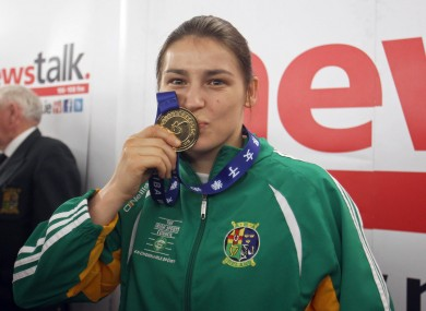 Four-time world boxing champion Katie Taylor's boxing club, St Fergal's in Bray, currently does not have its own working toilets or showers.