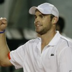 Andy Roddick rescued people from a burning hotel in Rome. (AP Photo/Luca Bruno)