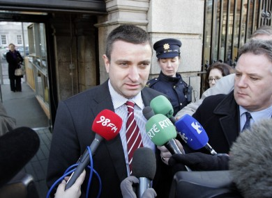 FF's Niall Collins believes Jan O'Sullivan's planning report is a