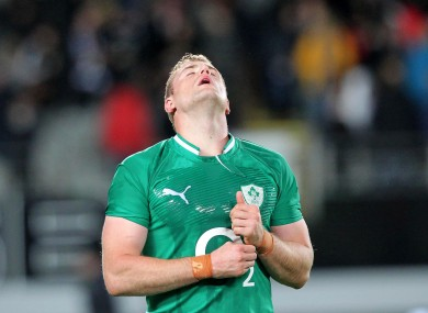 Jamie Heaslip reflects on a comprehensive defeat.