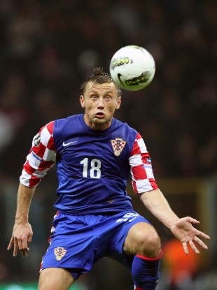 Olic in action against Turkey during their Euro 2012 play-off.