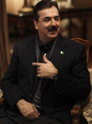Yousuf Raza Gilani (File)