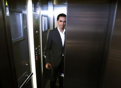 Alberto Contador: back in action.