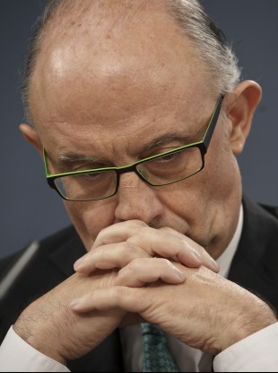 Spain's treasury minister Cristobal Montoro admits Spain is being slowly shut out of the bond markets.