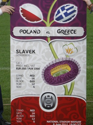 Tickets for Euro 2012 have been in short supply.