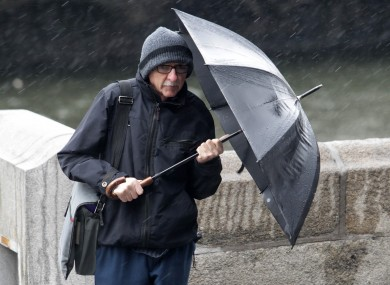 Don't forget your brolly