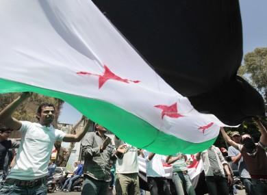 A Syrian flag (File photo)
