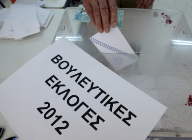 Lucky Greece: they got special 'Parliamentary Elections 2012' ballot boxes made up, and now they'll get to use them twice.