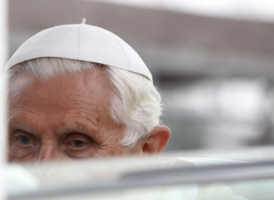 Pope Benedict XVI, the former head of the Congregation of the Doctrine of the Faith